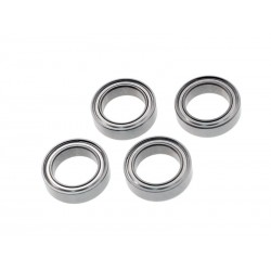 Steel Ball Bearing 10x15x4mm (4pcs)
