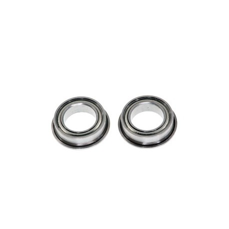 Flanged Steel Ball Bearing 5x8x2.5mm (2pcs)