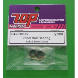 Steel Ball Bearing 5x8x2,5mm (2pcs)