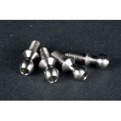 Titanium 4,3 ball stud - short