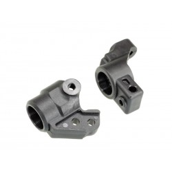 Mini car steering block & rear hub