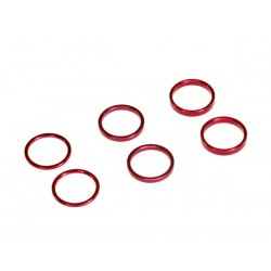 Gear diff spacer set (each 2 pcs)