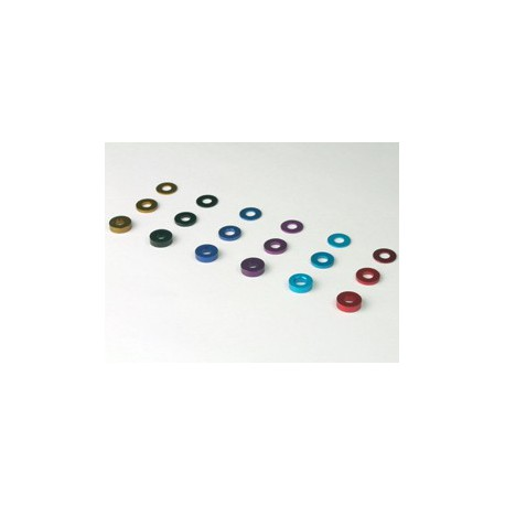 3mm x 1.5t collar light blue ( 10pcs)