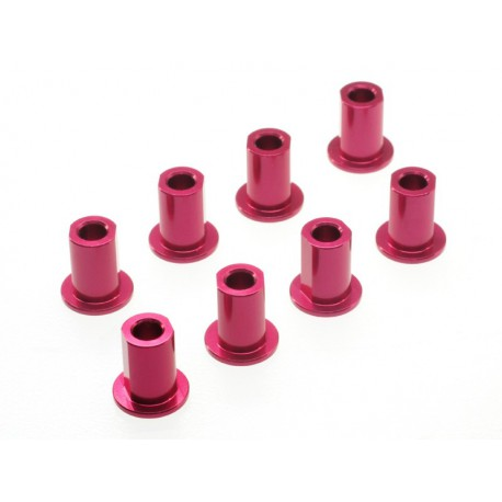Aluminiun suspension mount insert ( for Photo EX Red 8 pcs)
