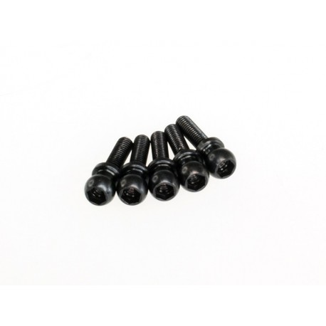5.3 x 10 mm steel ball stud (5pcs)