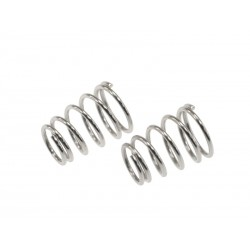 Rebel- side spring silver ( 0,6 mm x 6.0 coils - 2pcs)