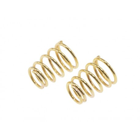 Rebel- side spring gold ( 0,65mm x 6,0 coils - 2 pcs)