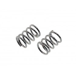 Rebel- front spring silver ( 0.5mm x 5.0 coils - 2 spec)