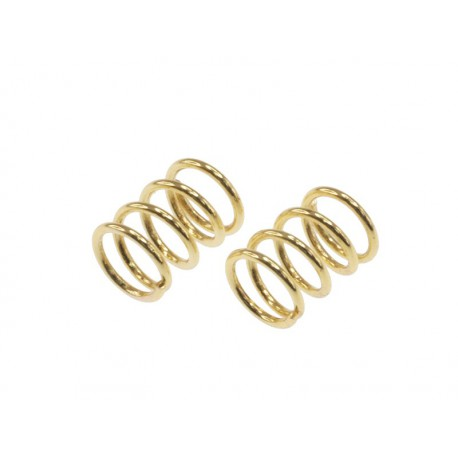 E­Rebel- front spring gold ( 0.5mm x 4.5 coils - 2 pc)