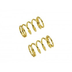 Rebel 10 - front spring gold (0.5mm x 5.5 coils - 2 pc)
