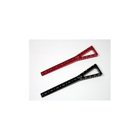 Height gauge & down-stop gauge black