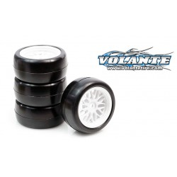 SET DE 4 RUEDAS VOLANTE MINI 30R