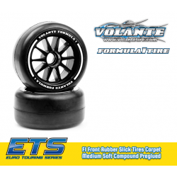 VOLANTE F1 FRONT RUBBER SLICK TIRES MEDIUM SOFT