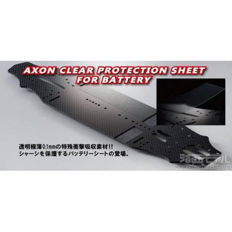 AXON CLEAR PROTECTION SHEET FOR BATTERY