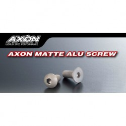 AXON Matte Alu Screw (Flat Head 3mm x 8mm 10pic)