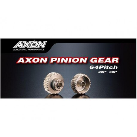 AXON PINION GEAR 64P 24T