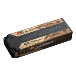 Sunpadow 7.4V 2S 8400mAh 120C/60C LiPo Battery