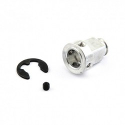 Pulley adapter 8mm 18T - aluminum