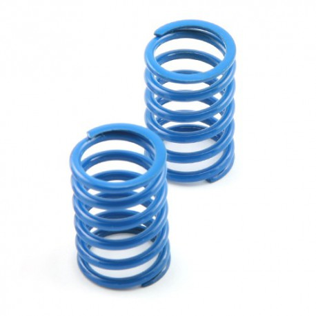 Shock spring rear blue - V8 medium (2)