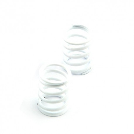 Shock spring front white - V8 soft (2)
