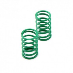 Shock spring rear darkgreen - V8 soft 2016 (2)