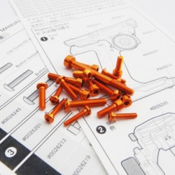 M17 Light Weight Screw Set (Orange)