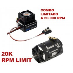 COMBO JUSTOCK 13.5T 20K RPM limite 20.000