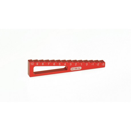 CHASSIS DROOP GAUGE -3 10MM FOR 1/10 CARS (10 MM)