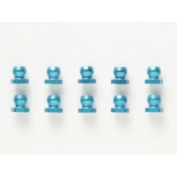 TAMIYA 5mm Alu Shor Ball Nut Blue 10pcs