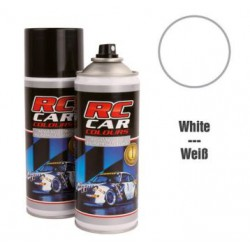 RC Car Colours Lexan Spray 150ml - White