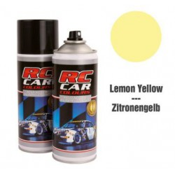 RC Car Colours Lexan Spray 150ml - Yellow