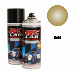 RC Car Colours Lexan Spray 150ml - AM Gold