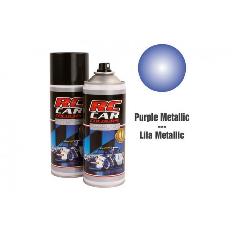 RC Car Colours Lexan Spray 150ml - METAL PURPLE
