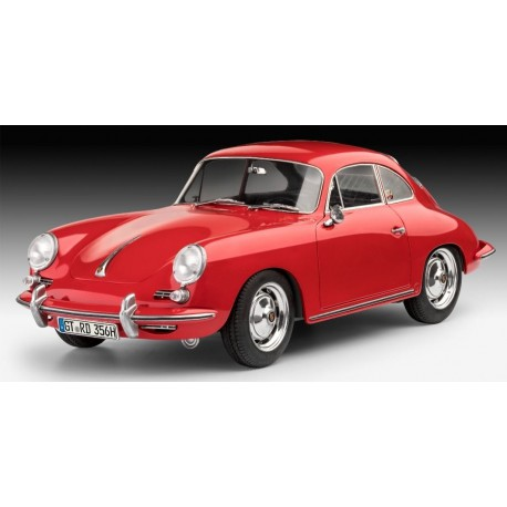 Carroceria Mini Porsche 356 210mm Mchassis clasica