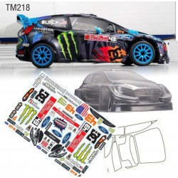 Ford Fiesta Monster Energy 210mm M-chassis