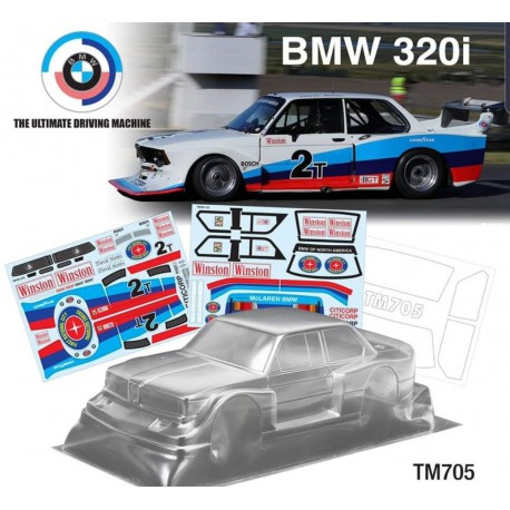 Carroceria Mini BMW 320 - 210mm Mchassis