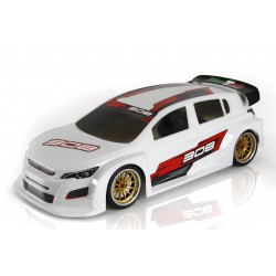 MONTECH 308 TCR FWD Clear Body 190mm
