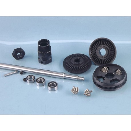 """GEAR DIFF IMPERIAL VERSION (6,35mm 1/4"""" SHAFT)"""