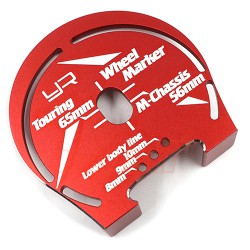 Aluminum Wheel WellMarker For 1:10 Touring M-Chass