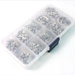 Stainless Steel Screw AssortedSet (400pcs)