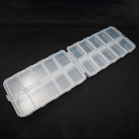 Plastic Double Sided Screw andParts Box L 160 X W
