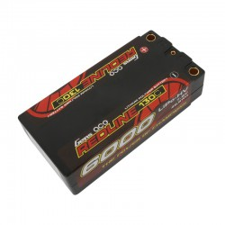 Gens ace Redline Series Shorty 6000mAh 7.6V 2S 130