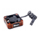 ROCKET ALUMINUM COOLING FAN (ORANGE/BLACK)28000rpm