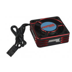 ROCKET ALUMINUM COOLING FAN (RED/BLACK) 28000rpm