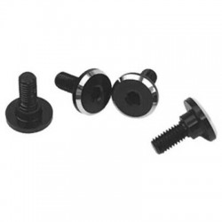 1up Racing Servo Mounting Screws 1/10 Black Anodiz