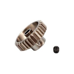 Yokomo 24T Hard Precision Pinion Gear (48Pitch·Li