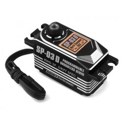 Yokomo SP-03DP Low Profile Brushless Servo - Black