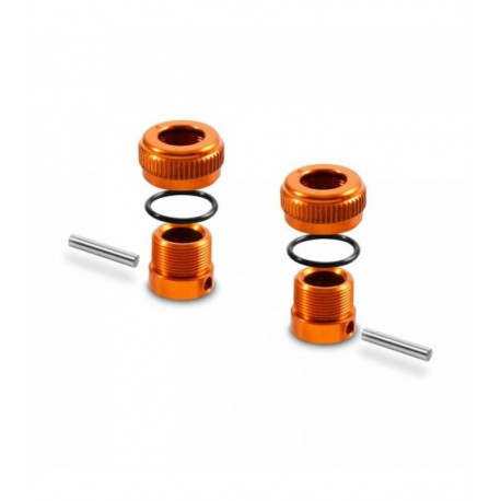 XRAY Aluminum Adjustable Body Post Stop - Orange
