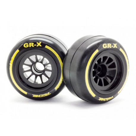 Ride F1 Front Rubber Slick Tires GR-X Compound 61m