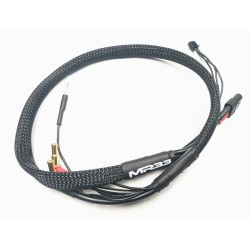 MR33 2S XT60 All-Black Charging Lead - 600mm - (4/